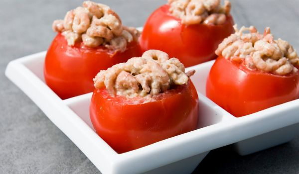 Shrimp Stuffed Tomatoes Recipe