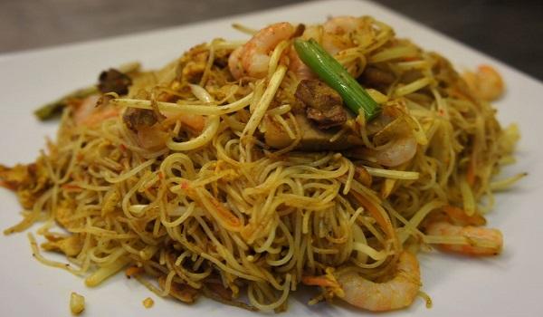 Singapore Rice Noodles Recipe