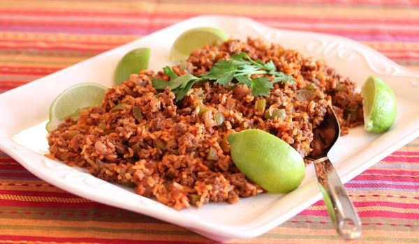 Spanish Beef Rice Recipe