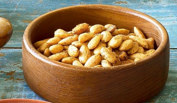 Spicy Almonds Recipe