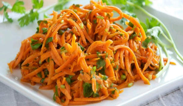 Spicy Carrot Salad Recipe