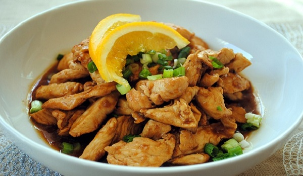 Spicy Lemon and Orange Chicken