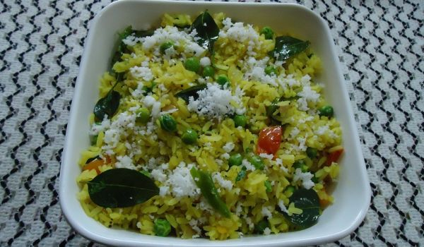 Spicy Poha Salad