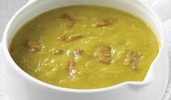 Split Pea Soup with Bacon Recipe
