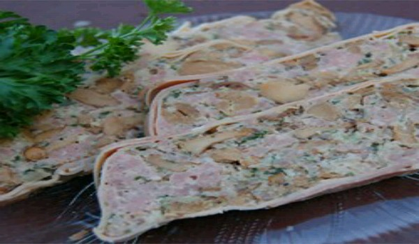 Swedish Chanterelle Mushroom Pate Recipe