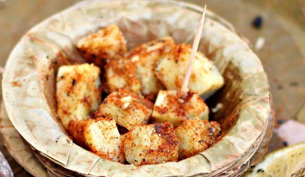 Sweet Potato Chaat Recipe