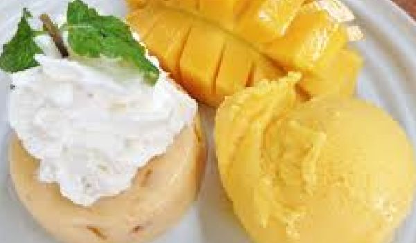 Thai Mango Ice Cream