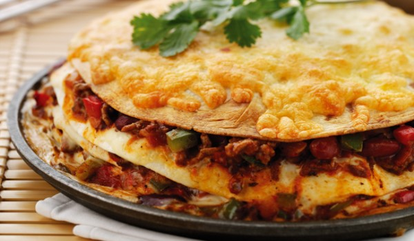 Tortilla Lasagne Recipe