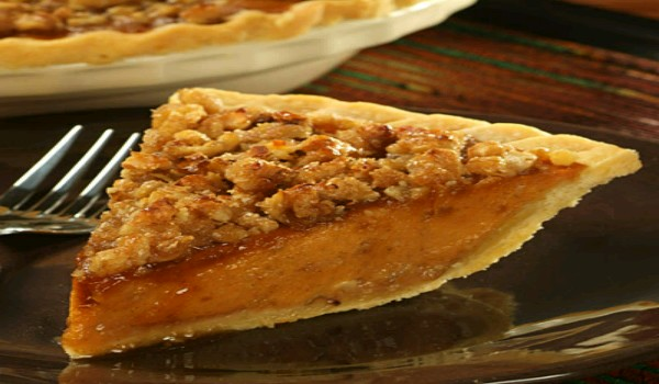 Vanilla Walnut Pumpkin Pie Recipe