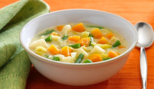 how to make vege soups cramy
