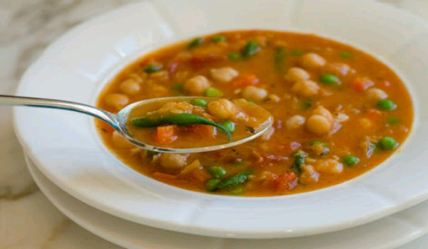 Vegetable Broth with Lentils