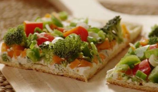 Vegetable Pizza Squares
