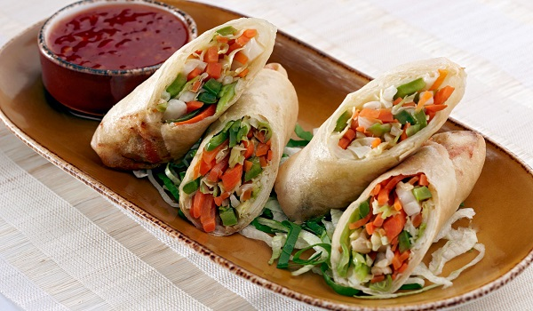 Vegetable Rolls Recipe