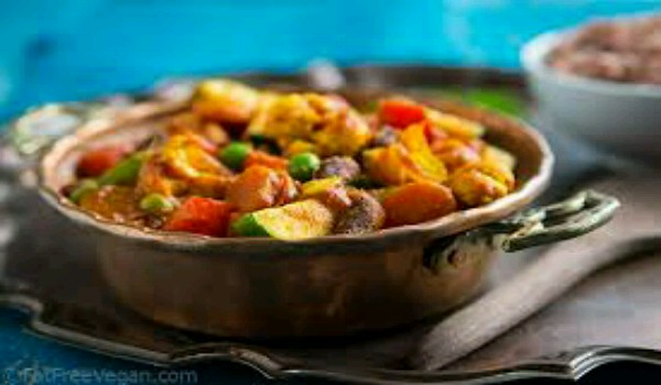 Vegetable Vindaloo Recipe