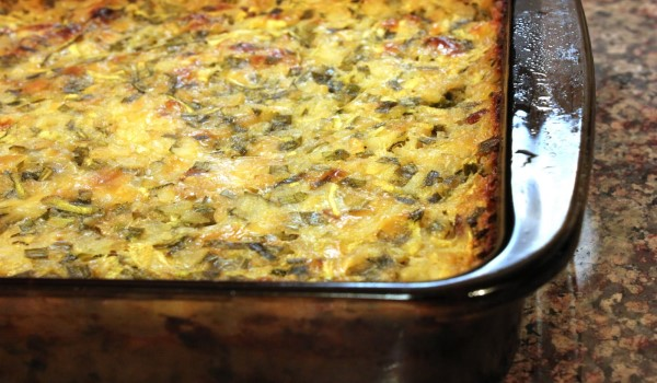 Zucchini and Rice Casserole Recipe
