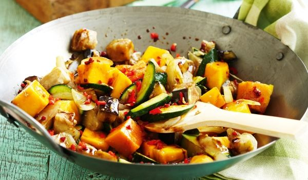 Zucchini Stir Fry