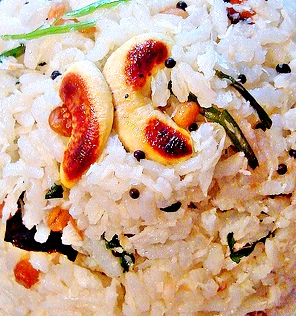 Andhra Coconut Rice Recipe