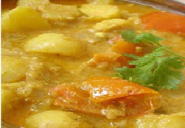 Andhra Potato Kurma
