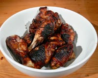 Aromatic Barbecued Chicken