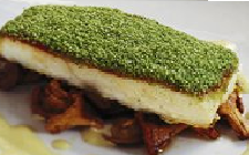 Baked Halibut Fillet
