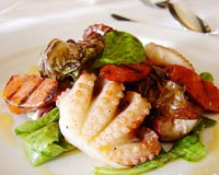 Barbecued Octopus Salad