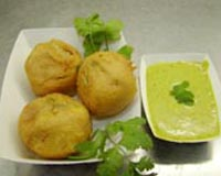 batata vada - Polling 4 Cooking Competition Oct 2009