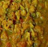 Cauliflower Peas Masala