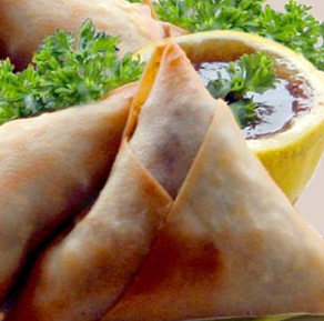Chicken samosas