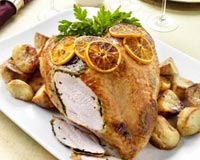 Citrus Roasted Turkey Recipe