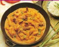 Creamy Prawn Curry