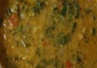 Dhal Spinach Recipe