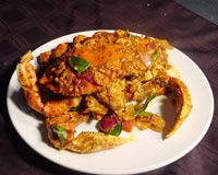 Dry Masala Crabs Recipe