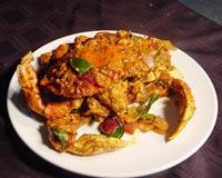 Dry Masala Crabs