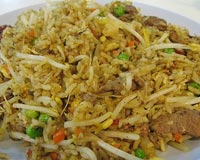 Fried Rice with Sprouts