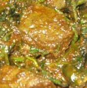 Goat liver curry
