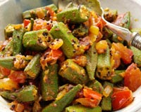 Indian Okra Recipe