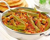 Kadhai Bhindi Recipe