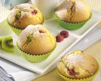 Kiwi Fruit Muffins Recipe