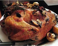 Lemon Garlic Roasted Turkey
