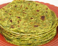 Methi Parathas Recipe
