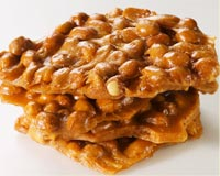 love toasted garlic peanut brittle sweets