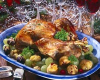 Roast Turkey With Chestnut Stuffing Recipe