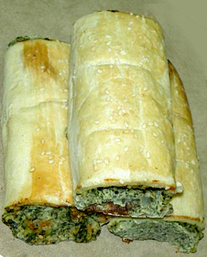 Spinach Crescent Roll