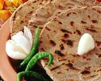 Stuffed Bajra Roti