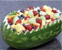 Boat Recipe How To Make Melon Boat How To Prepare Watermelon Boat